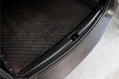 Защитный комплект Минимум: порожек,  жабо цельное без скотча Renault Duster 2010-2014 (I поколение)