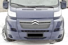 Зимняя заглушка решетки радиатора Citroen Jumper Шасси 2006-2013, Jumper 2006-2013 (250 кузов)