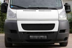 Решётка радиатора с ЧЕРНОЙ сеткой Citroen Jumper Шасси 2006-2013,  Jumper 2006-2013 (250 кузов)