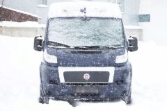 Воздухозаборник на капот БЕЗ СКОТЧА ЗМ Citroen Jumper Шасси 2006-2013, Jumper 2006-2013 (250 кузов) ГЛЯНЕЦ (ПОД ПОКРАСКУ)