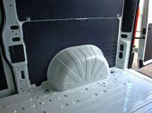 Обшивка стенок грузового отсека три яруса УСИЛЕННАЯ (3 мм) Peugeot Boxer 2006-2013 L4H2, Boxer 2014-н.в. L4H2