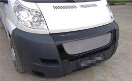 Решётка радиатора с МЕТАЛЛИЧЕСКОЙ сеткой Peugeot Boxer шасси 2006-2013, Boxer 2006-2013 (250 кузов)