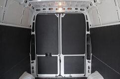 Обшивка верхнего яруса задних дверей УСИЛЕННАЯ (3 мм) Peugeot Boxer 2006-2013 L3H2, Boxer 2014-н.в. L3H2