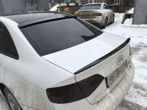 Спойлер на Audi A4 B8 дорестайлинг (Кроме S-Line) 2007-2011