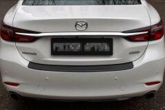Накладка на задний бампер Mazda 6 2018-
