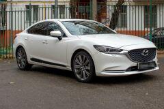 Молдинги на двери Mazda 6 2018- ШАГРЕНЬ
