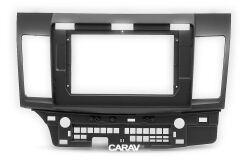 """Переходная рамка для установки автомагнитолы CARAV 22-006: 10.1"""" / 250:241 x 146 mm / MITSUBISHI Lancer Х, Galant Fortis 2007+ / PROTON Inspira 2010+"""