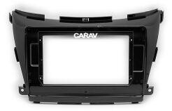 """Переходная рамка для установки автомагнитолы CARAV 22-308: 10.1"""" / 250:241 x 146 mm / NISSAN Murano 2015+"""