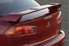 абс Спойлер штатный (2.0, реплика) для Mitsubishi Lancer 10