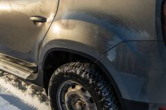 Защитные накладки на арки Renault Duster 2011-2015 г.в.
