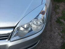 Реснички на фары узкие для Opel Astra H