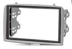 Переходная рамка для установки автомагнитолы CARAV 11-188: 2 DIN / 173 x 98 mm / 178 x 102 mm / ALFA ROMEO 147 (937) 2000-2010; GT (937) 2004-2010