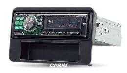 Переходная рамка для установки автомагнитолы CARAV 11-187: 1 DIN / 182 x 53 mm / ALFA ROMEO 159 (939) 2005-2011; Brera (939) 2005-2010; Spider (939) 2006-2010