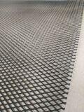 Алюминиевая сетка Ромб (100х40см, ячейка 10х5мм) черная, RN10 (1000х400мм)