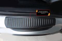 Накладки на внутренние части задних арок БЕЗ СКОТЧА Toyota Rav4 2013-2019