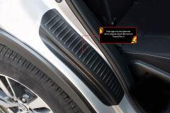 Накладки на внутренние части задних арок СО СКОТЧЕМ 3М Toyota Rav4 2013-2019