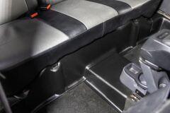 Накладки на ковролин заднего ряда Renault Duster (2 шт.) с 2011 г.в.
