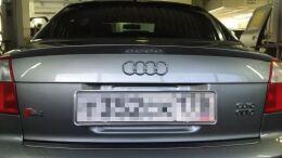 Спойлер на багажник Audi A4 B6