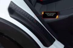 Накладки на внутренние части задних арок со скотчем 3М Hyundai Creta I 2016-