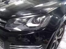 Накладки на фары Volkswagen Touareg 2010-2014