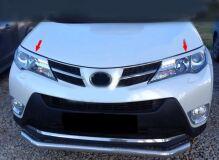 Реснички на фары для Toyota Rav4 2013-