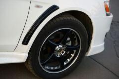 Жабры накладки на крылья Mitsubishi Lancer 10