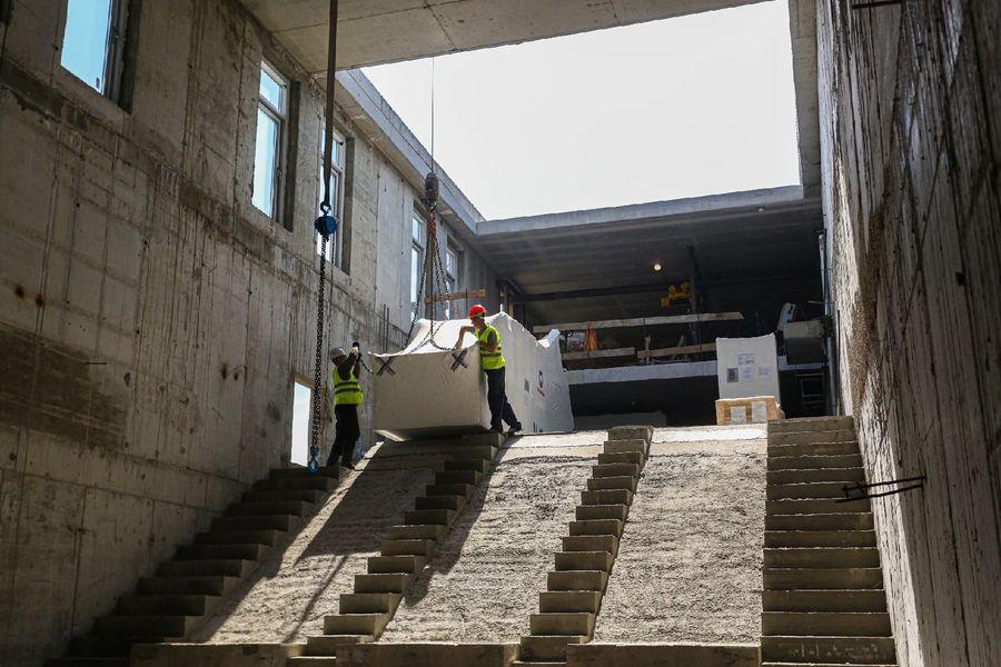 Фото Швейцарские эскалаторы установят на станции метро «Спортивная» в Новосибирске 16