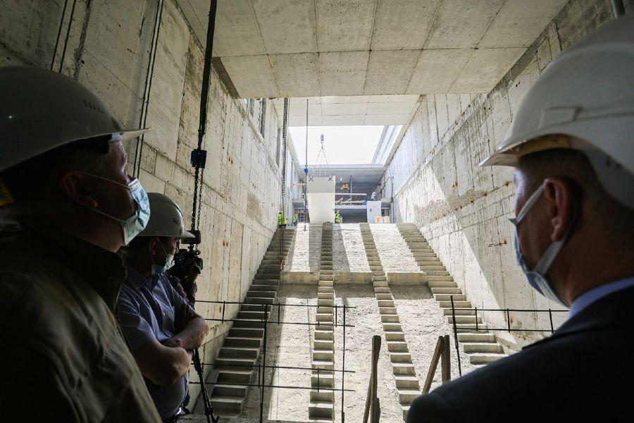 Фото Швейцарские эскалаторы установят на станции метро «Спортивная» в Новосибирске 24