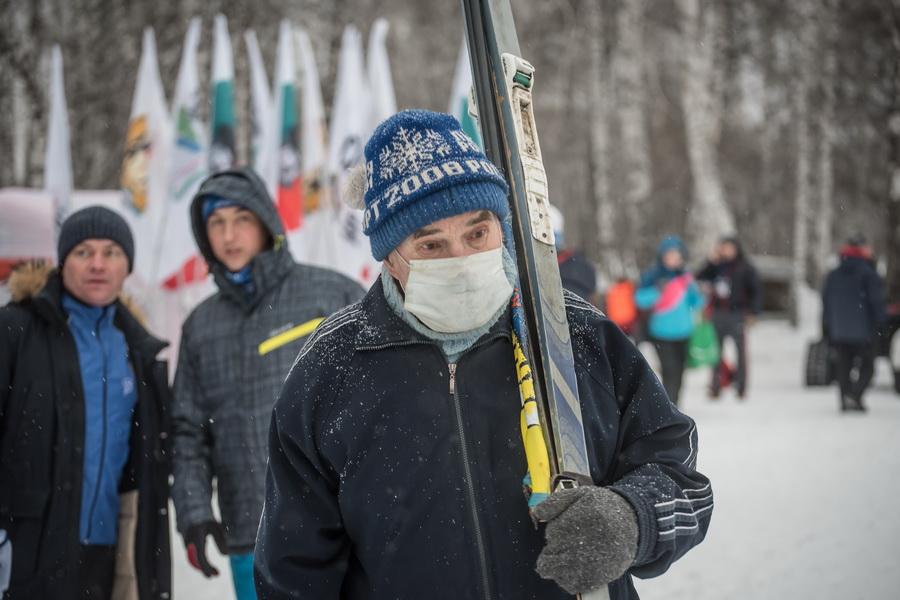 фото Влюблённые в лыжи: массовый заезд в Новосибирске 87