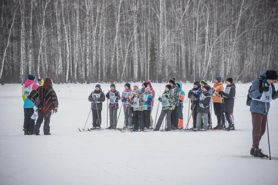 фото Влюблённые в лыжи: массовый заезд в Новосибирске 86