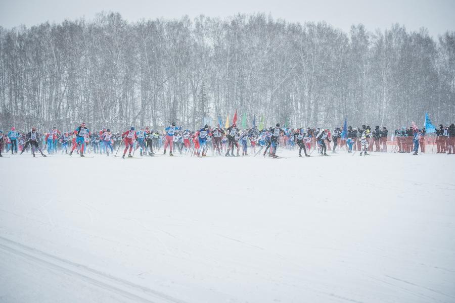фото Влюблённые в лыжи: массовый заезд в Новосибирске 66