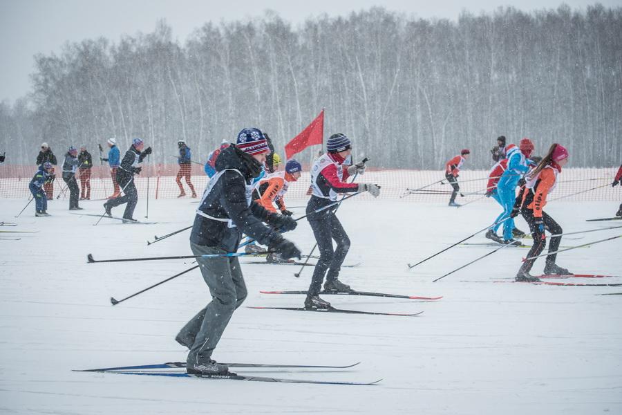фото Влюблённые в лыжи: массовый заезд в Новосибирске 59