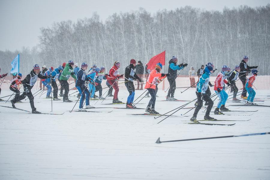 фото Влюблённые в лыжи: массовый заезд в Новосибирске 58