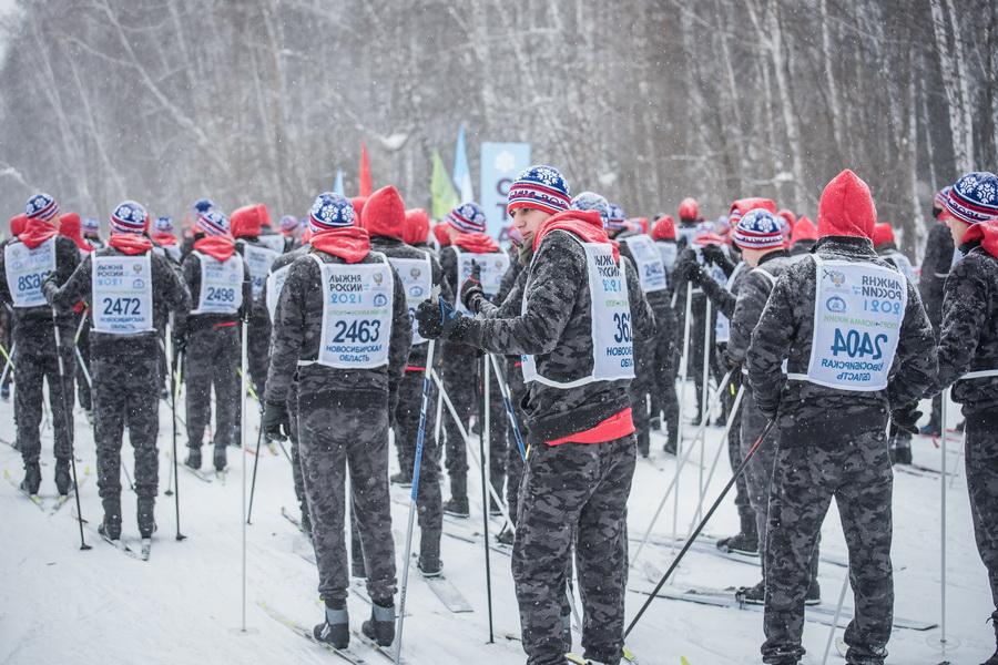 фото Влюблённые в лыжи: массовый заезд в Новосибирске 47