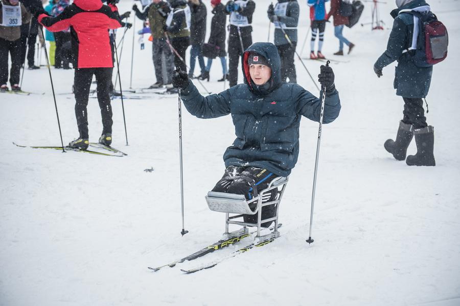 фото Влюблённые в лыжи: массовый заезд в Новосибирске 46