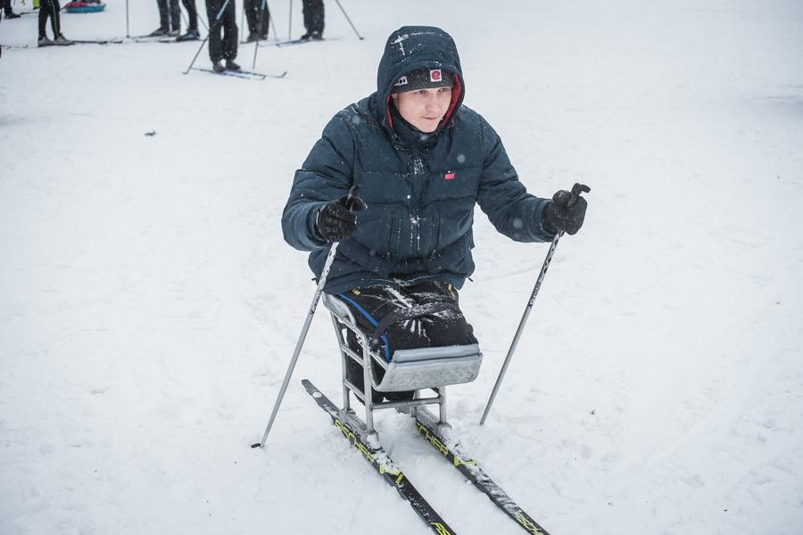 фото Влюблённые в лыжи: массовый заезд в Новосибирске 45