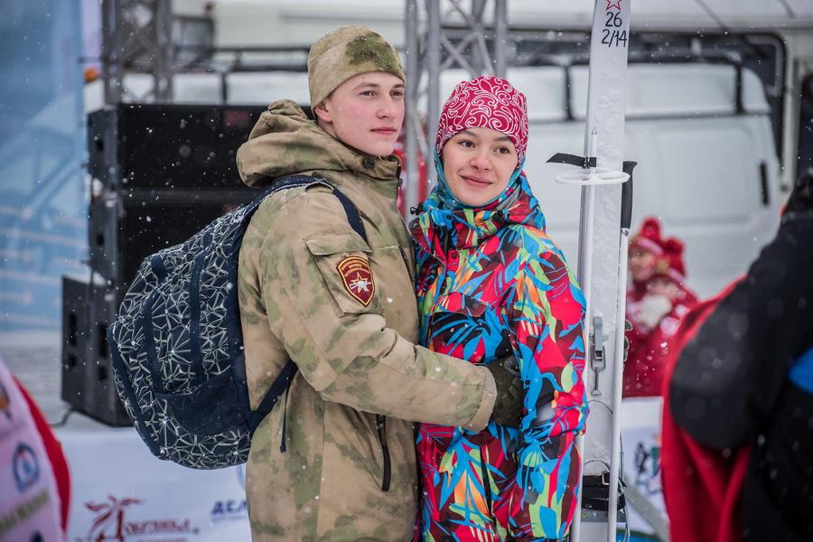 фото Влюблённые в лыжи: массовый заезд в Новосибирске 9