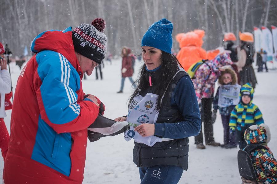 фото Влюблённые в лыжи: массовый заезд в Новосибирске 7