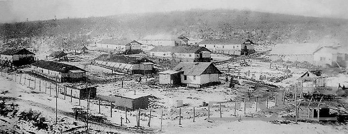Пересыльный лагерь. Ванино. Конец 40-х годов ХХ-го века.
