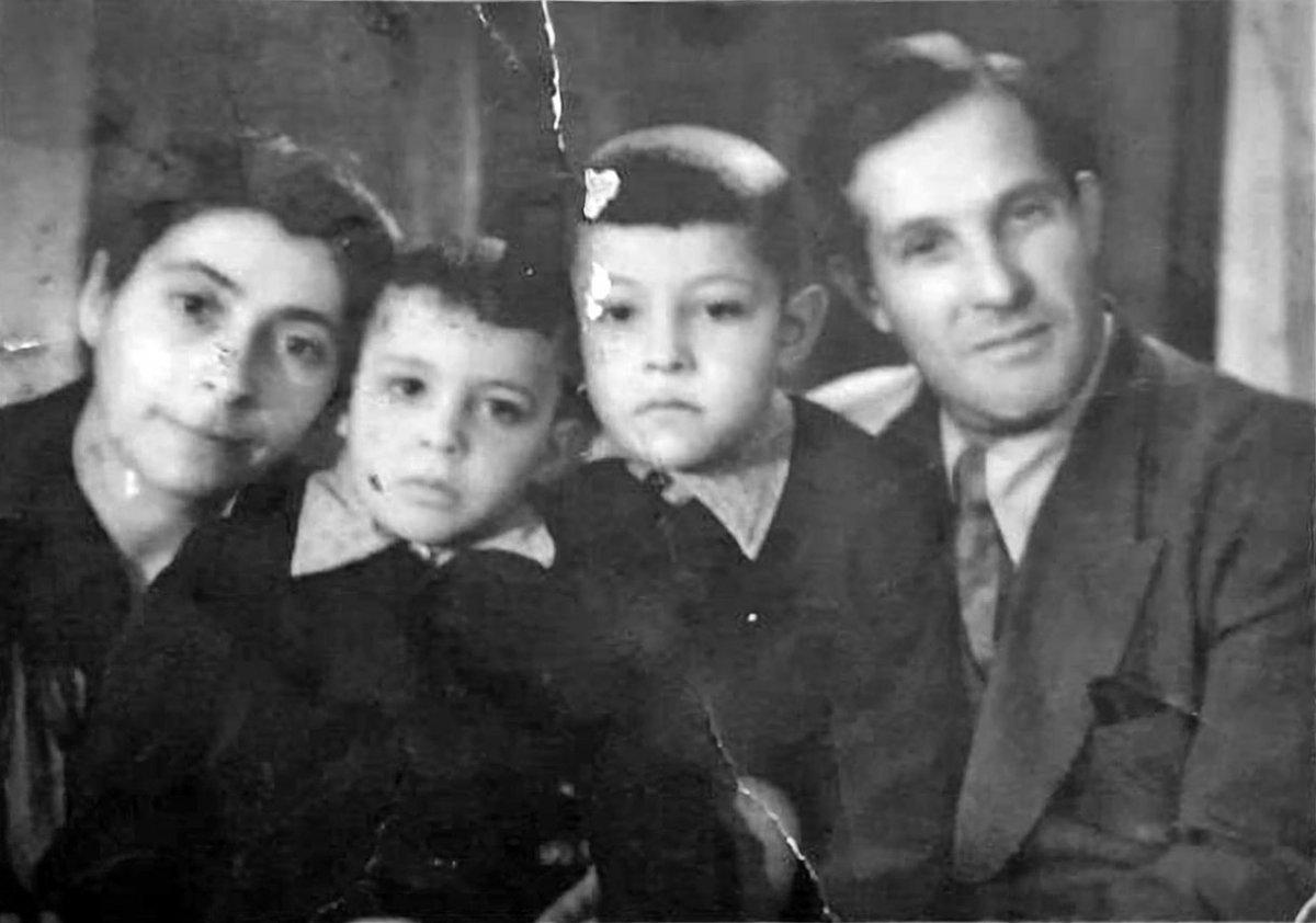 Семья Гиршовичене. 1960 год.