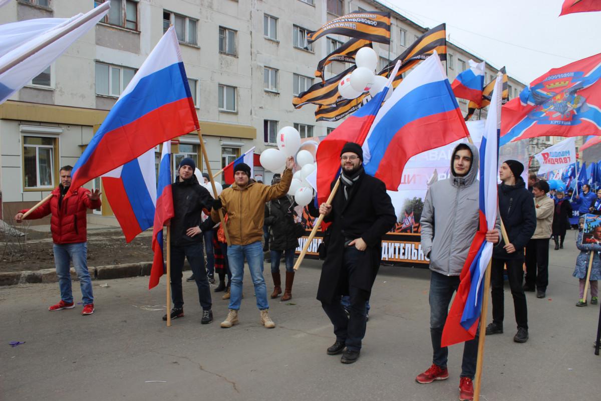 Участники колонны ОД Прогресс