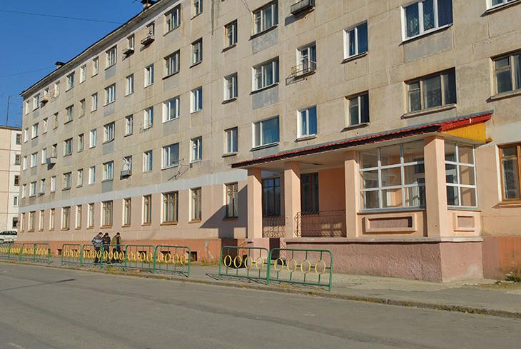 Детская больница фасад