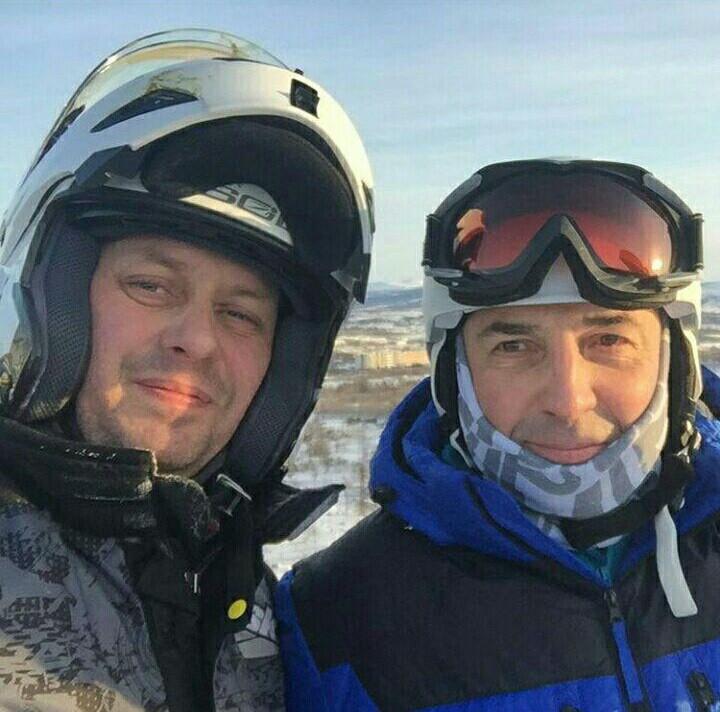 Олег Дудник и мэр Юрий Гришан фото из Twitter Олега Дудника
