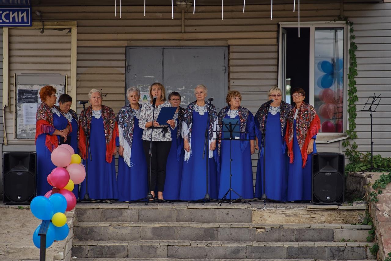 В Туртапке отметили День поселка