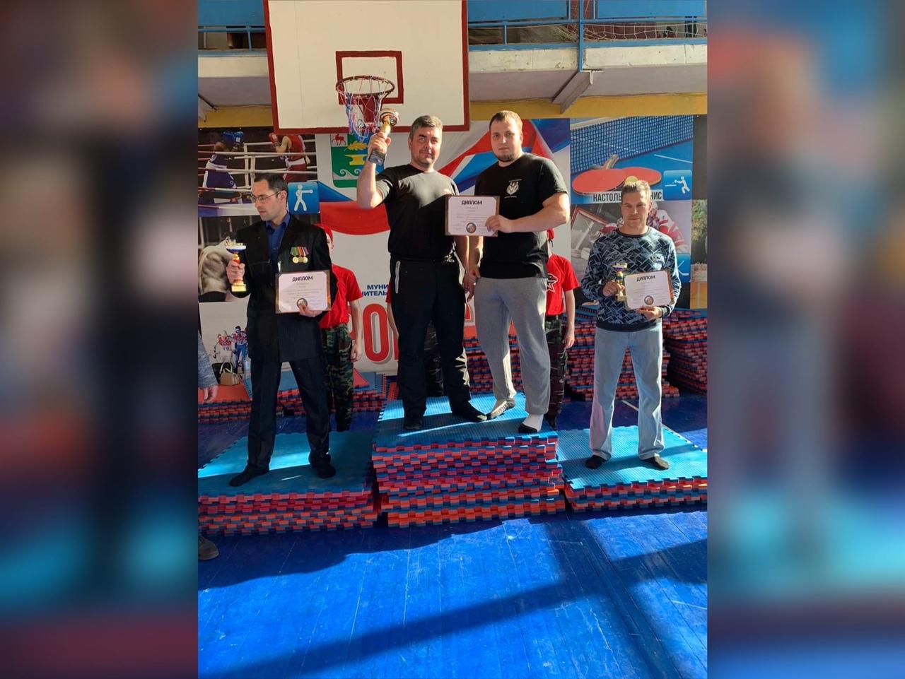 Выксунские рукопашники стали первыми в турнире