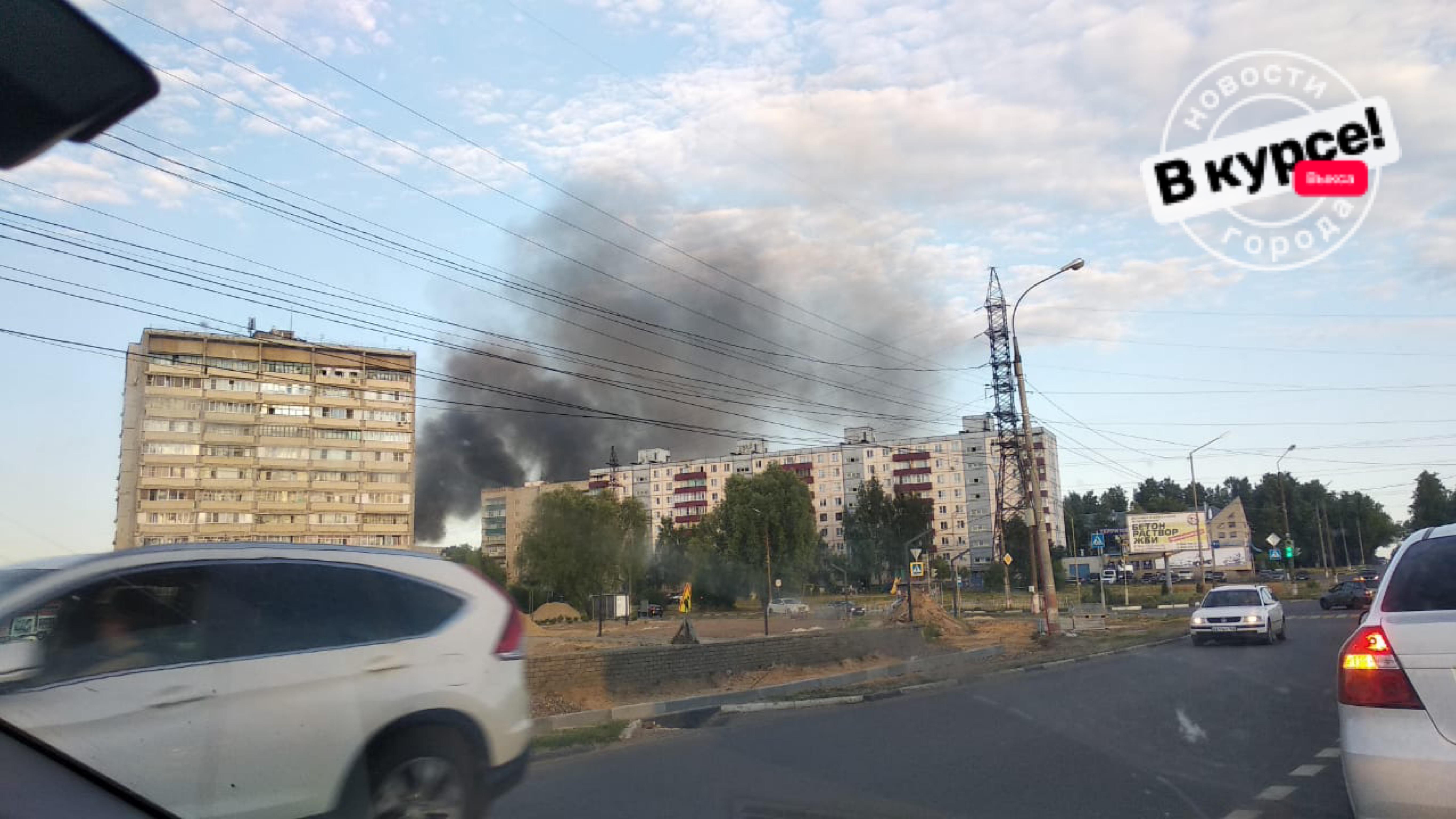 Сараи сгорели на улице Осипенко