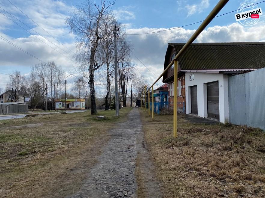 Тротуар на Челюскина появится уже в этом году