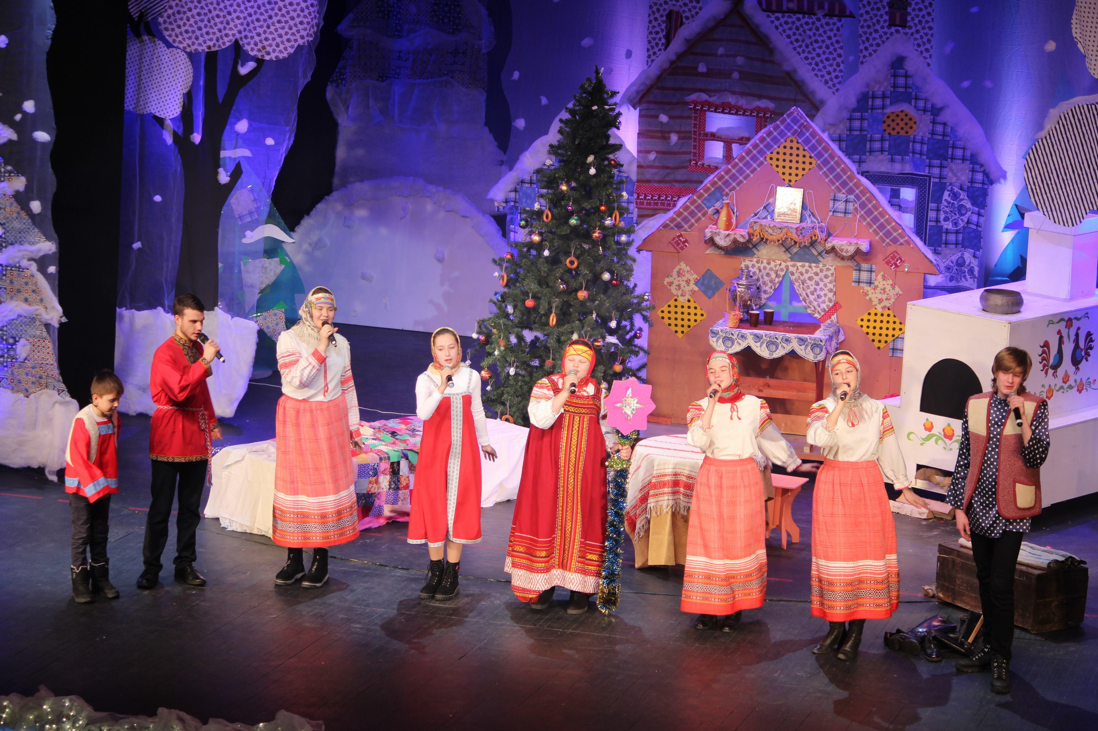 Во Дворце прошла Рождественская елка