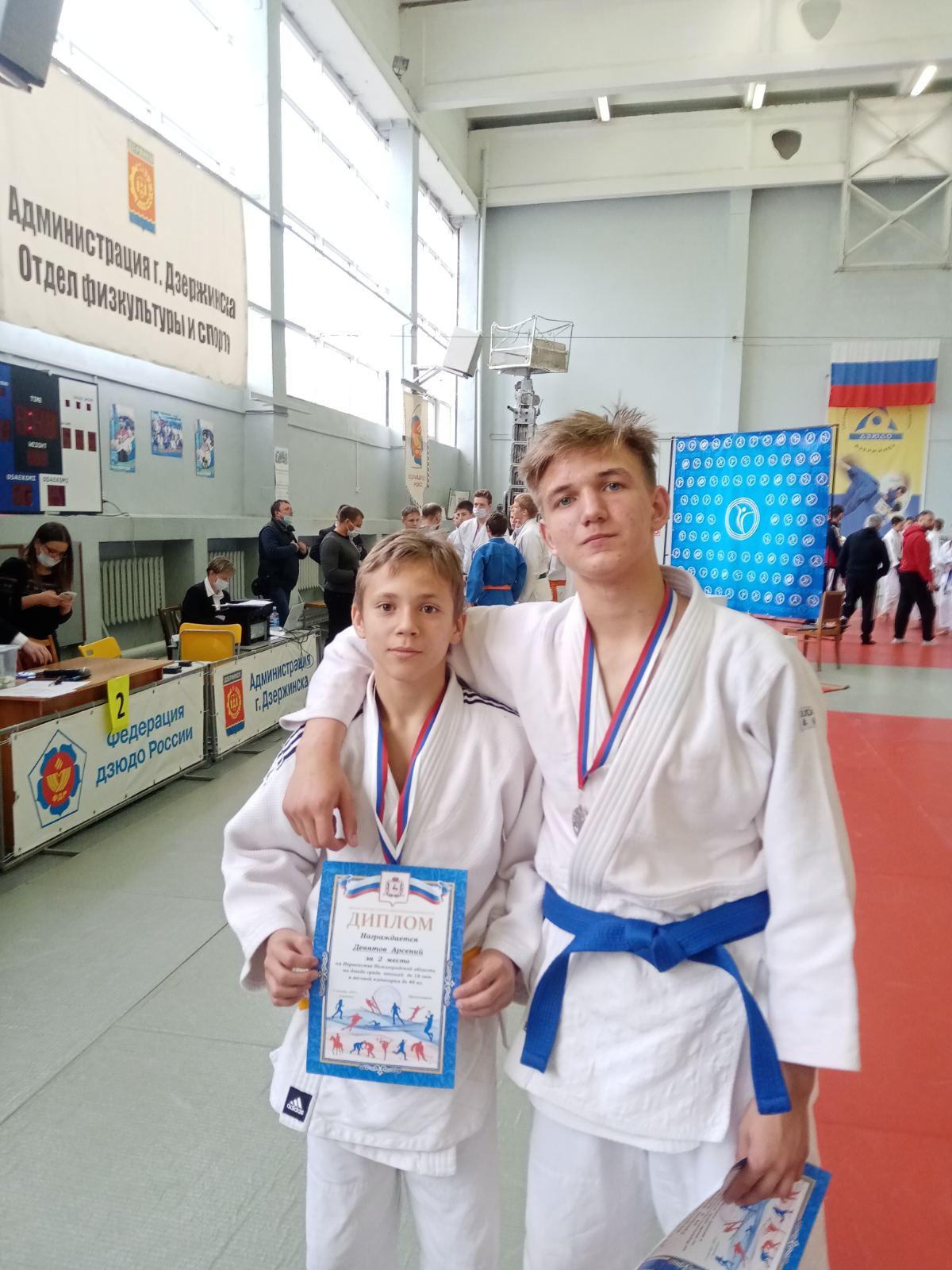 Два дзюдоиста завоевали «серебро»