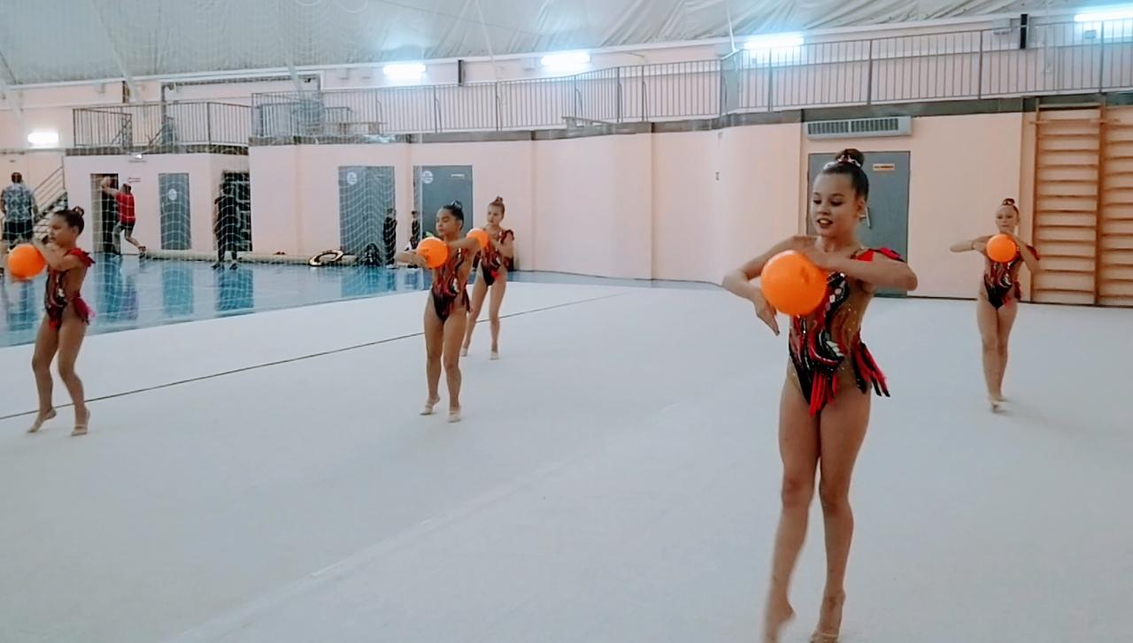 Семь золотых медалей завоевали гимнастки